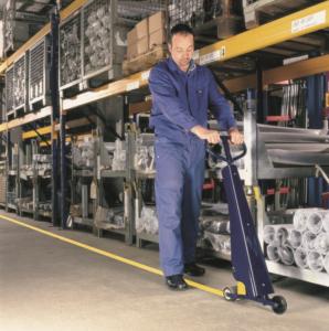 labeling warehouse flooring