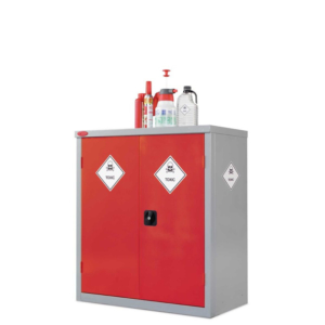 cabinet for harmful toxic chemicals